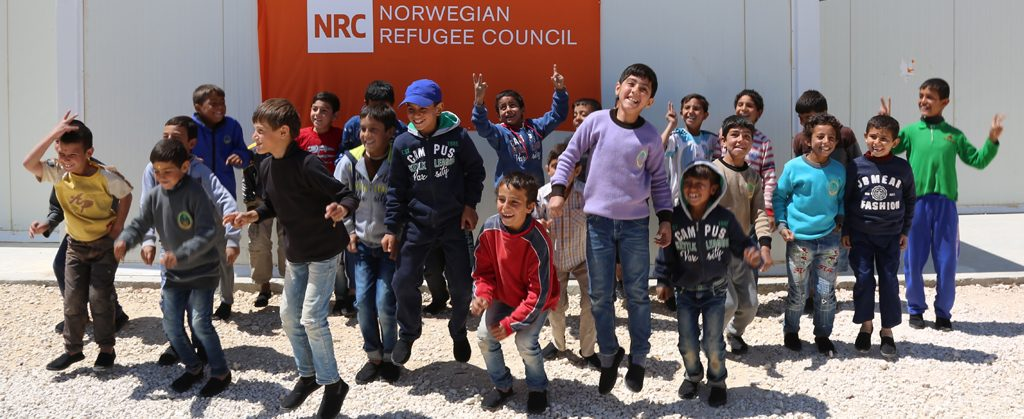 Giving with NRC in Jordan